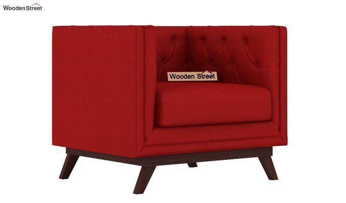 Berlin 3 Seater Sofa (Fabric, Dusky Rose)-4