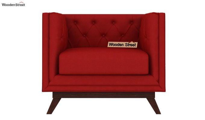 Berlin 3 Seater Sofa (Fabric, Dusky Rose)-5