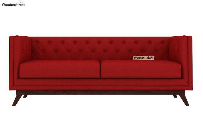 Berlin 3 Seater Sofa (Fabric, Dusky Rose)-3