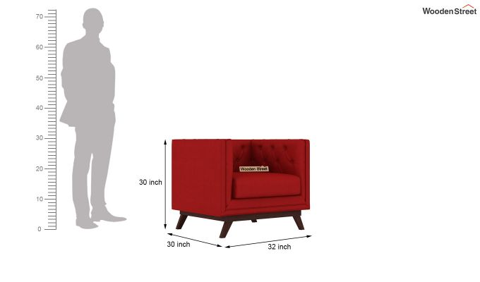 Berlin 2 Seater Sofa (Fabric, Dusky Rose)-7