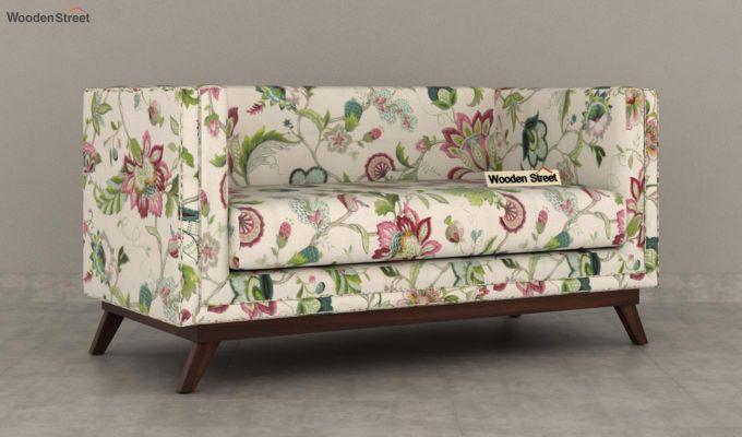 Berlin 2 Seater Sofa (Fabric, Rose Vineyard)-3
