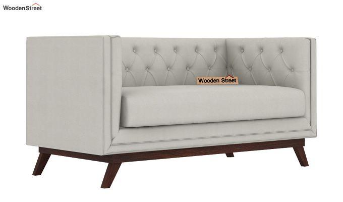 Berlin 2 Seater Sofa (Fabric, Ivory Nude)-1