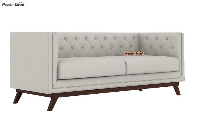 Berlin 2 Seater Sofa (Fabric, Ivory Nude)-5