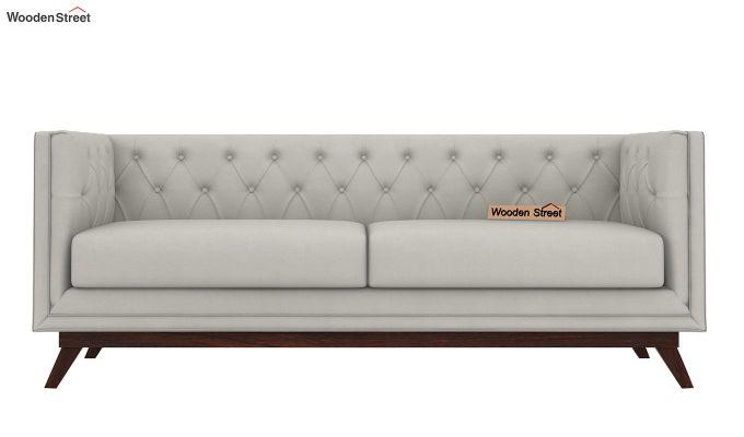 Berlin 2 Seater Sofa (Fabric, Ivory Nude)-6