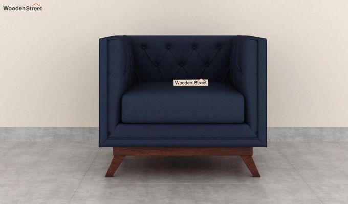 Berlin 2 Seater Sofa (Fabric, Indigo Ink)-6