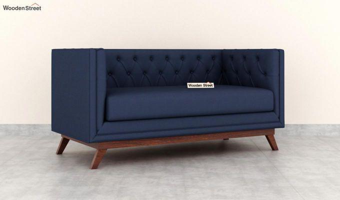 Berlin 2 Seater Sofa (Fabric, Indigo Ink)-2