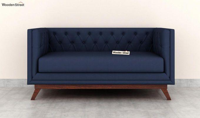 Berlin 2 Seater Sofa (Fabric, Indigo Ink)-3