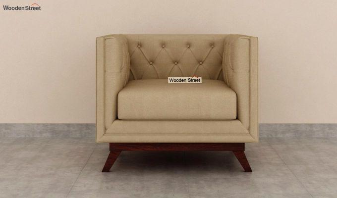 Berlin 2 Seater Sofa (Fabric, Irish Cream)-6