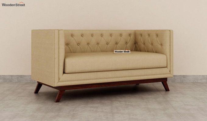 Berlin 2 Seater Sofa (Fabric, Irish Cream)-2