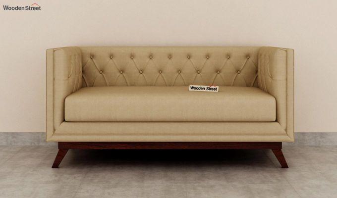 Berlin 2 Seater Sofa (Fabric, Irish Cream)-3
