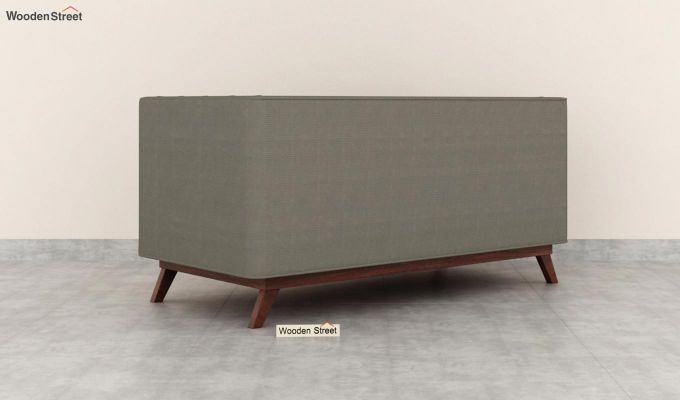 Berlin 2 Seater Sofa (Fabric, Warm Grey)-4