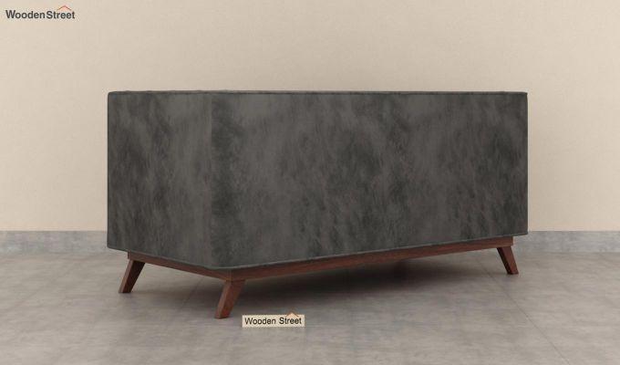 Berlin 2 Seater Sofa (Velvet, Graphite Grey)-5