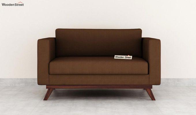 Casper 2 Seater Sofa (Fabric, Classic Brown)-3