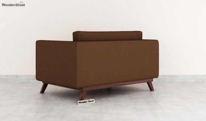 Casper 2 Seater Sofa (Fabric, Classic Brown)-4