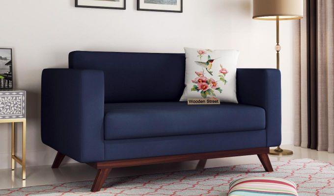 Casper 2 Seater Sofa (Fabric, Indigo Ink)-1