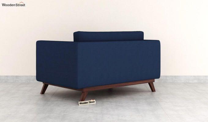 Casper 2 Seater Sofa (Fabric, Indigo Ink)-4
