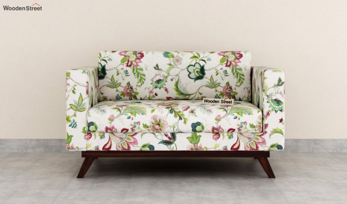 Casper 2 Seater Sofa (Fabric, Rose Vineyard)-3