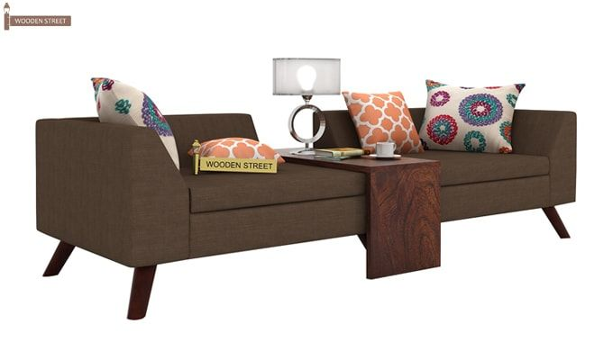 Christoph Fabric Sofa Set (Classic Brown)-5