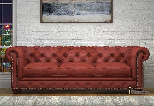 leather sofa set india