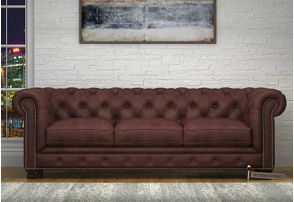 Leather Sofa Buy Leather Sofa Sets Online In India With Discount