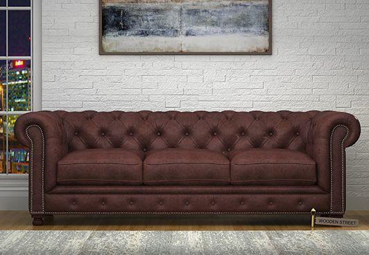 pure leather sofa price in india