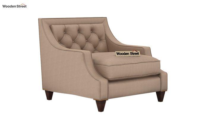 Daisy 1 Seater Sofa ( Fabric, Irish Cream)-1