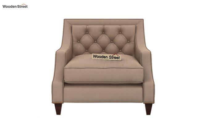Daisy 1 Seater Sofa ( Fabric, Irish Cream)-2