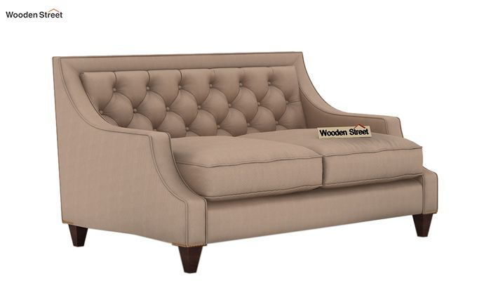 Daisy 2 Seater Sofa (Fabric, Irish Cream)-1