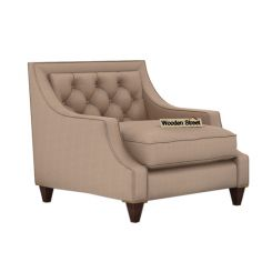 Daisy 1 Seater Sofa ( Fabric, Irish Cream)