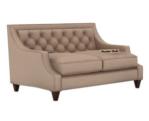 Daisy 2 Seater Sofa (Fabric, Irish Cream)