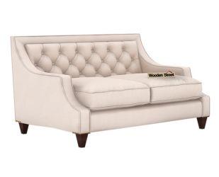 Daisy 2 Seater Sofa (Fabric, Ivory Nude)