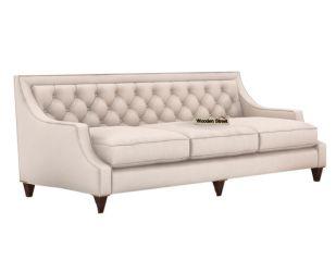 Daisy 3 Seater Sofa (Fabric, Ivory Nude)