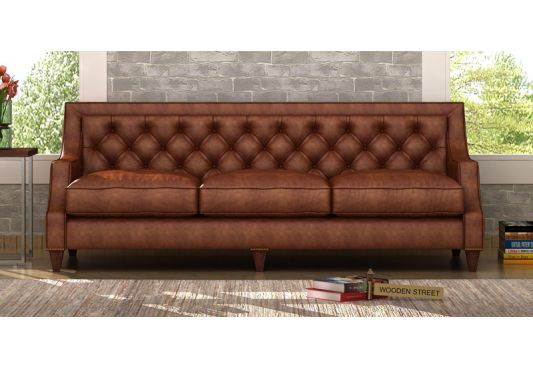 pure leather sofa price