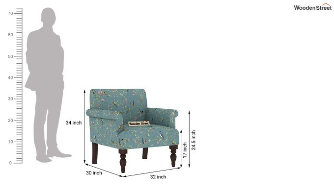 Foley 2 Seater Sofa (Linen, Bubble Robins)-8
