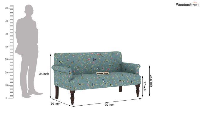 Foley 2 Seater Sofa (Linen, Bubble Robins)-10