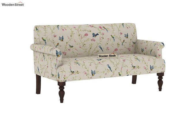 Foley 2 Seater Sofa (Linen, Cream Robins)-2