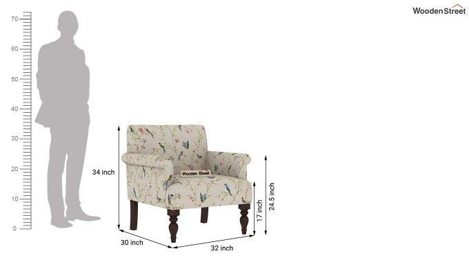 Foley 2 Seater Sofa (Linen, Cream Robins)-8