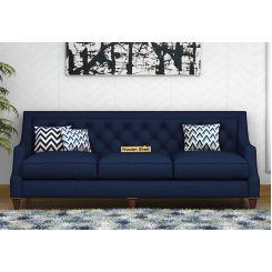 Daisy 3 Seater Sofa (Fabric, Indigo Ink)