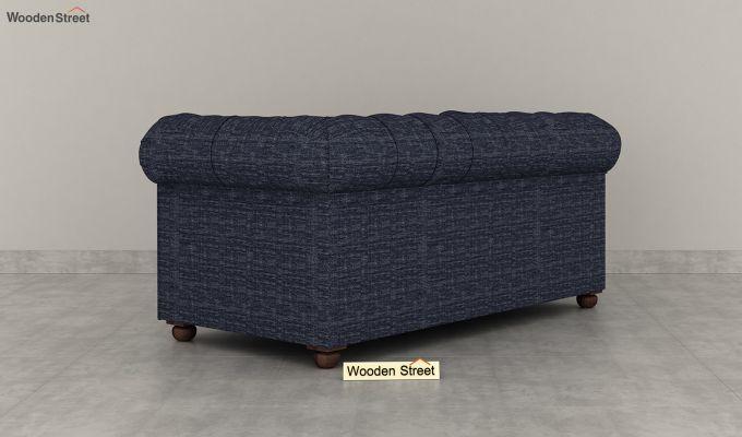Henry 2 Seater Sofa (Fabric, Blue Siberia)-4