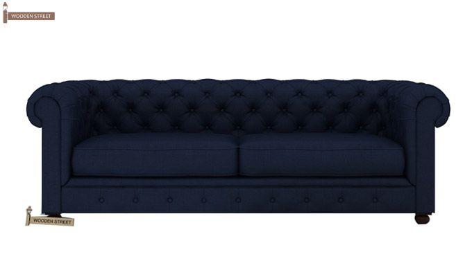 Henry 3+1+1 Fabric Sofa Set  (Indigo Ink)-3