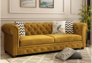 Awe Inspiring Fabric Sofa Buy Fabric Sofa Set Online Upto 55 Discount Dailytribune Chair Design For Home Dailytribuneorg
