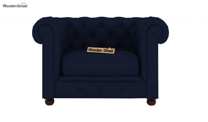 Henry 3+1+1 Fabric Sofa Set  (Indigo Ink)-5