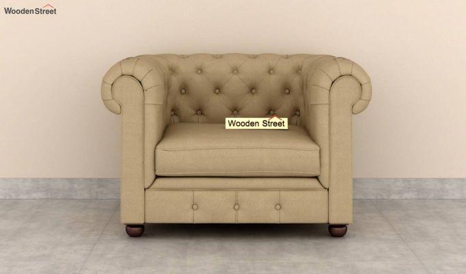 Henry 2 Seater Sofa (Fabric, Irish Cream)-6
