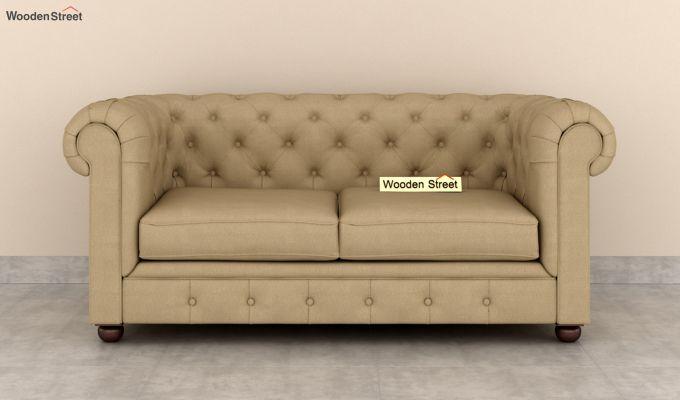 Henry 2 Seater Sofa (Fabric, Irish Cream)-3