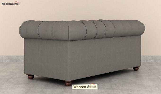Henry 2 Seater Sofa (Fabric, Warm Grey)-4