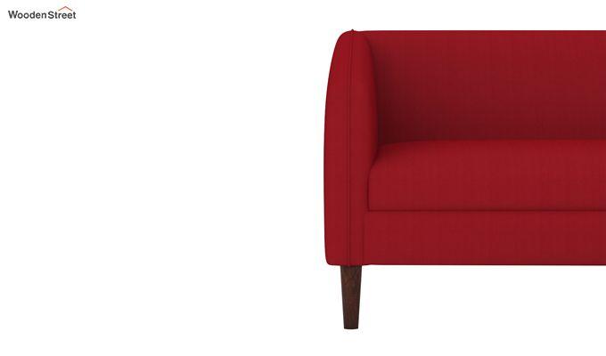 Letcher 3 Seater Sofa (Fabric, Dusky Rose)-3