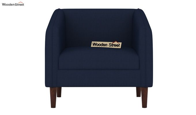 Letcher 3+1+1 Fabric Sofa Set  (Indigo Ink)-4