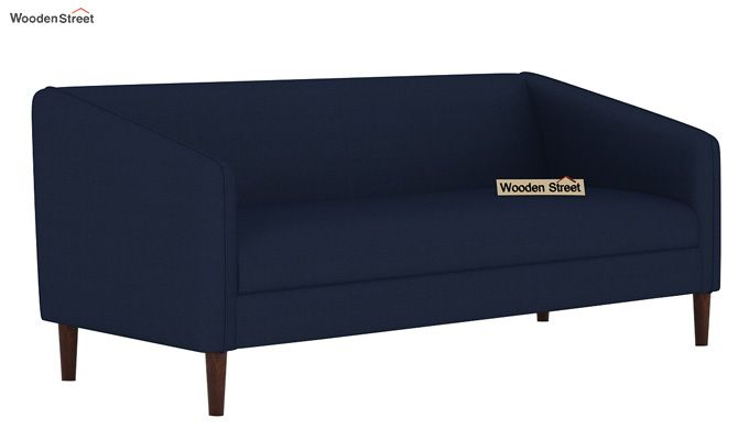Letcher 3 Seater Sofa (Fabric, Indigo Ink)-2