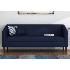 Letcher 3 Seater Sofa (Fabric, Indigo Ink)