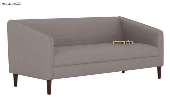 Letcher 3 Seater Sofa (Fabric, Warm Grey)-1